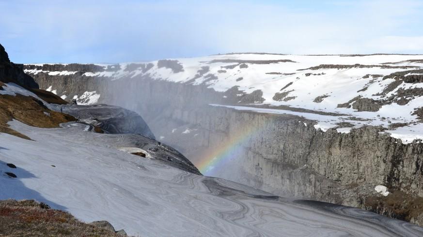 Cascada Gullfoss, una de las paradas habituales del Círculo de Oro.