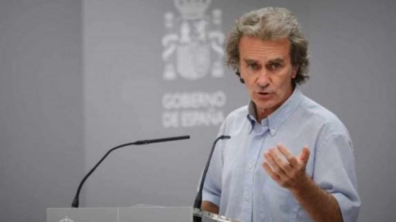 El director del Centro de Coordinación de Alertas y Emergencias Sanitarias, Fernando Simón. EUROPA PRESS.