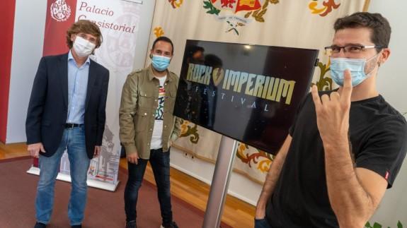 Presentación del Rock Imperium Fest. AYTO CARTAGENA