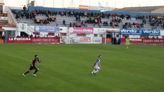 Alayeto, jugador del Yeclano.