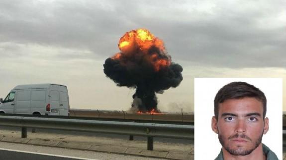 El piloto murciano Fernando Pérez ha fallecido en el accidente del F18 en Torrejón