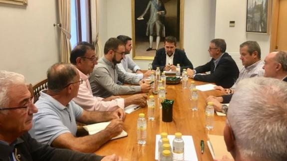 Reunión celebrada en Lorca