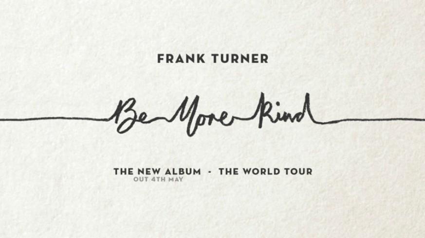 Promoción nuevo disco Frank Turner