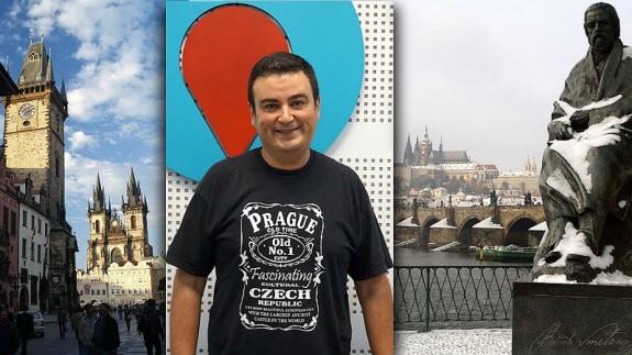 José Antonio García Ayala y monumentos de Praga