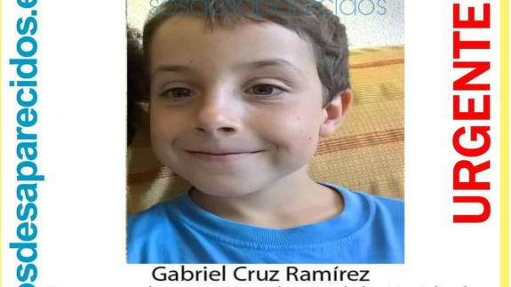 Foto actualizada de Gabriel Cruz, el niño desaparecido en Nïjar