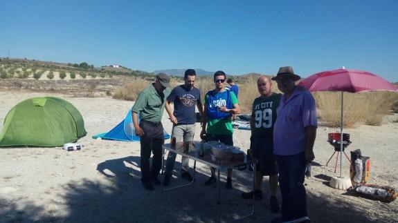 Miembros del sindicato ACAIP inician la acampada