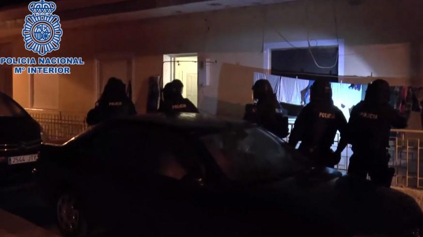 Operación desplegada por la Policía en Torre Pacheco