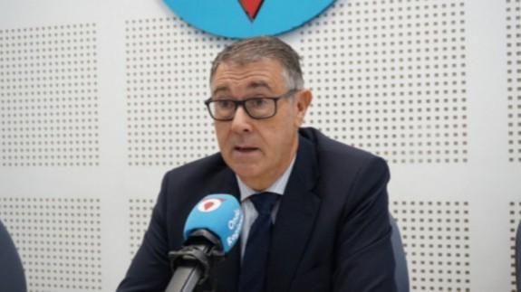 Mario Urrea, presidente de la Confederación Hidrográfica del Segura. ORM