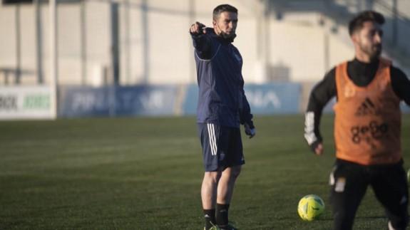 """Luis Carrión: """"Quiero que el FC Cartagena sea un equipo valiente y con personalidad"""""""