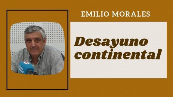 MURyCÍA. Desayuno Continental con Emilio Morales