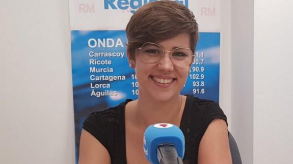 Cintia Segura en una imagen de archivo