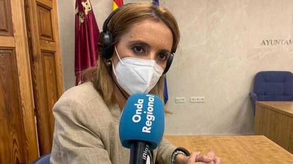 Finabel Martínez, alcaldesa de Fortuna
