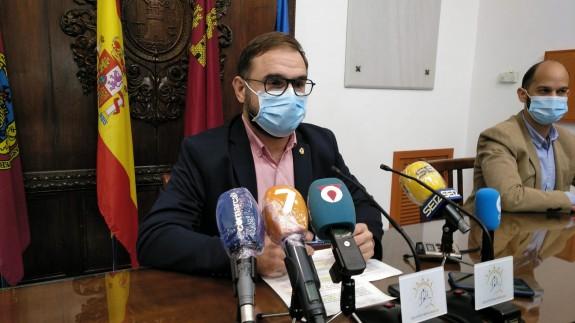 Diego José Mateos en rueda de prensa.