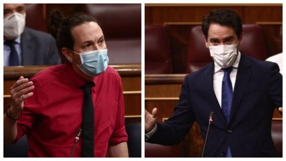 Pablo Iglesias y Teodoro García (archivo). EUROPA PRESS