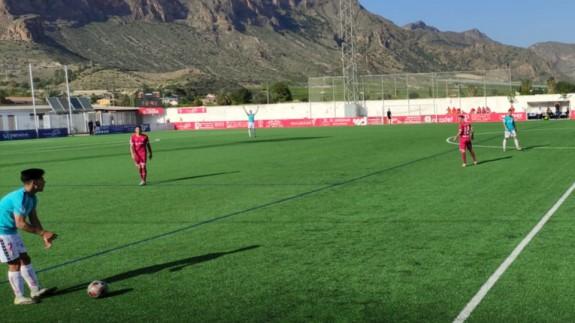 Empate sin goles entre Racing Murcia e Imperial