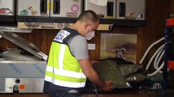 Operación policial en Jumilla