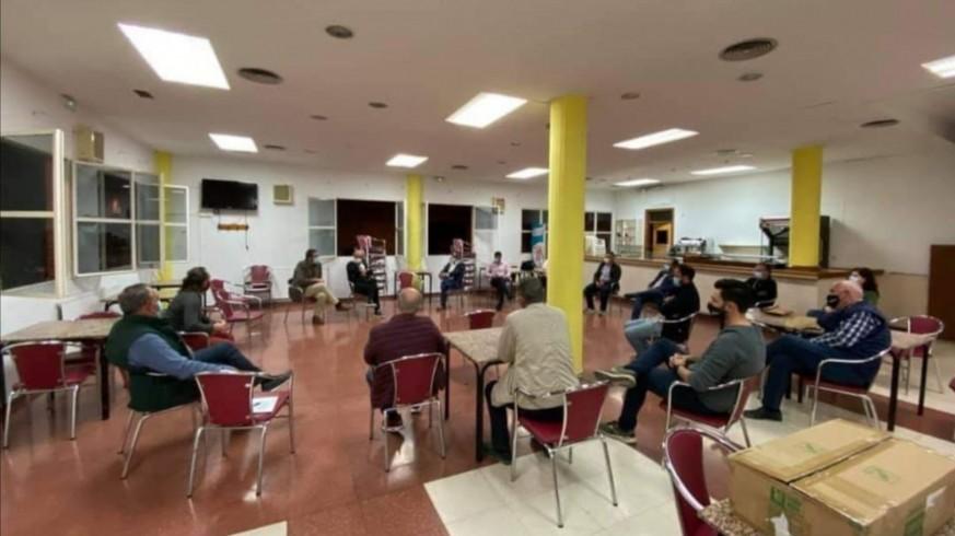 Reunión de este viernes en Totana