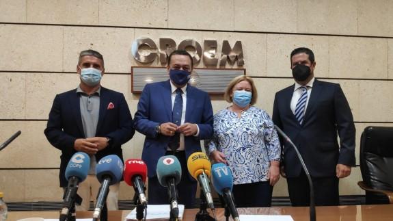 Rueda de prensa tras la Comisión Ejecutiva de CROEM