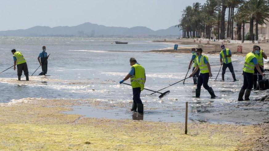 La CHS saca a información pública el colector de vertido cero en la zona norte del Mar Menor