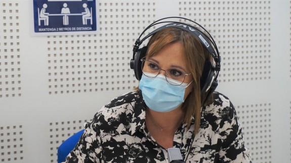 Imagen de archivo de Isabel Franco en Onda Regional de Murcia