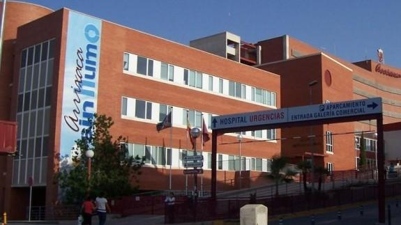 Imagen de archivo del hospital Virgen de la Arrixaca