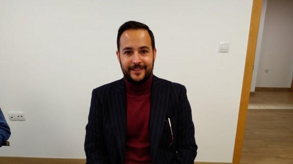 David Martínez, concejal de Cartagena, en los estudios de Onda Regional