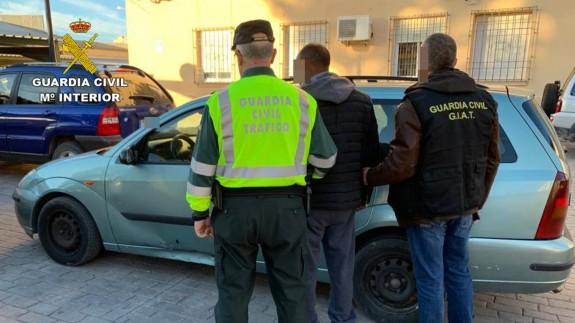 Detenido el conductor de un turismo que se dio a la fuga tras atropellar al conductor de un ciclomotor en Moratalla