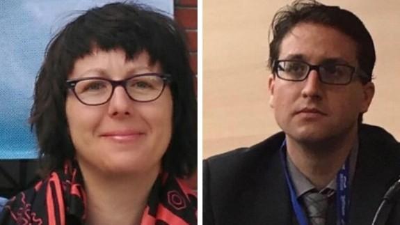 Marta Latorre y Salvador García Ayllón