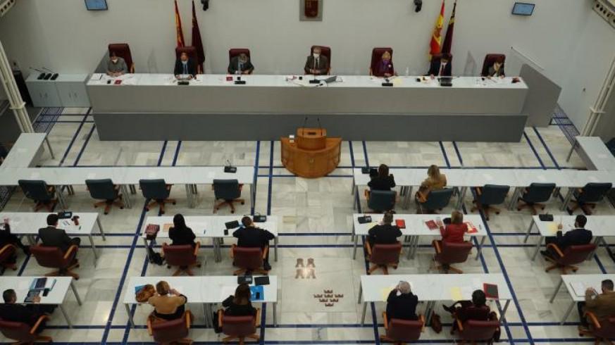 Celebración de una reunión del pleno (archivo). ASAMBLEA REGIONAL