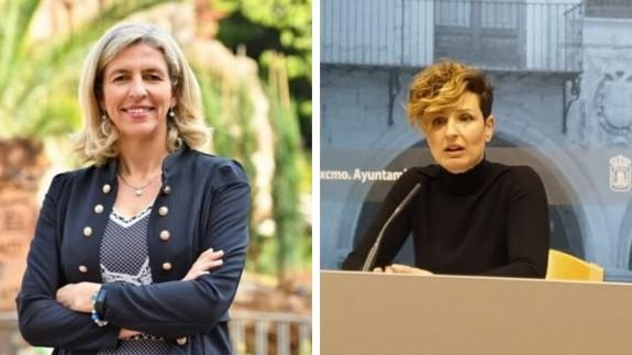 Mercedes Bernabé e Isabel Pérez