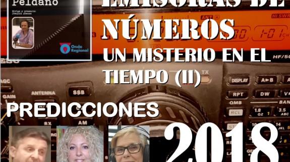 Emisoras de números (II) y Predicciones para el año 2018