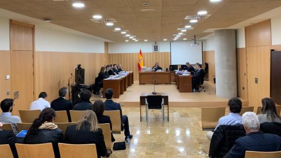 Juicio contra 'seriesyonkis' en la Ciudad de la Justicia de Murcia