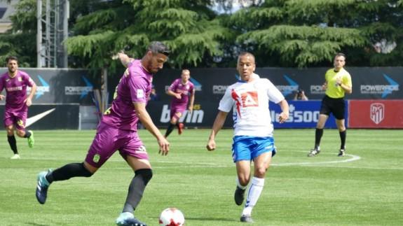 El Cartagena cae 1-0 frente al Rayo Majadahonda y se medirá al Celta B en semifinales del playoffs de ascenso