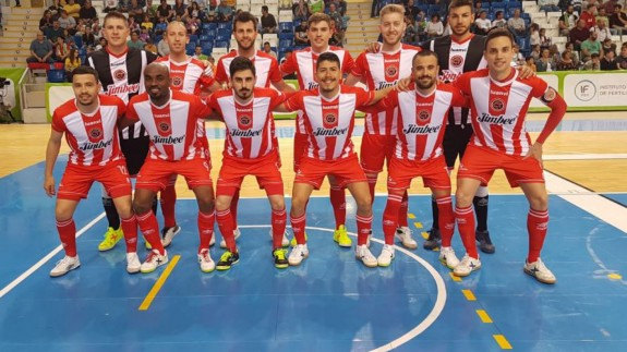 El Jimbee Cartagena empata a 5 frente a Palma Futsal