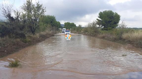 GALERÍA | Incidencias y problemas de tráfico en varios municipios por la lluvia