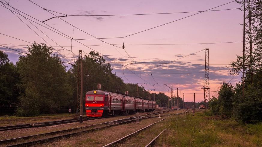 Uno de los trenes del Transiberiano