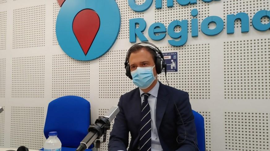 Marcos Ortuño, en los estudios de ORM