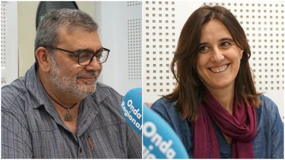 José Ramón Salcedo y Belén Andreu