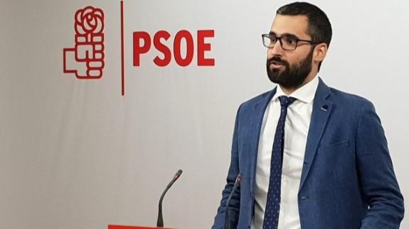 El vicesecretario general del PSRM-PSOE, Francisco Lucas. PSOE