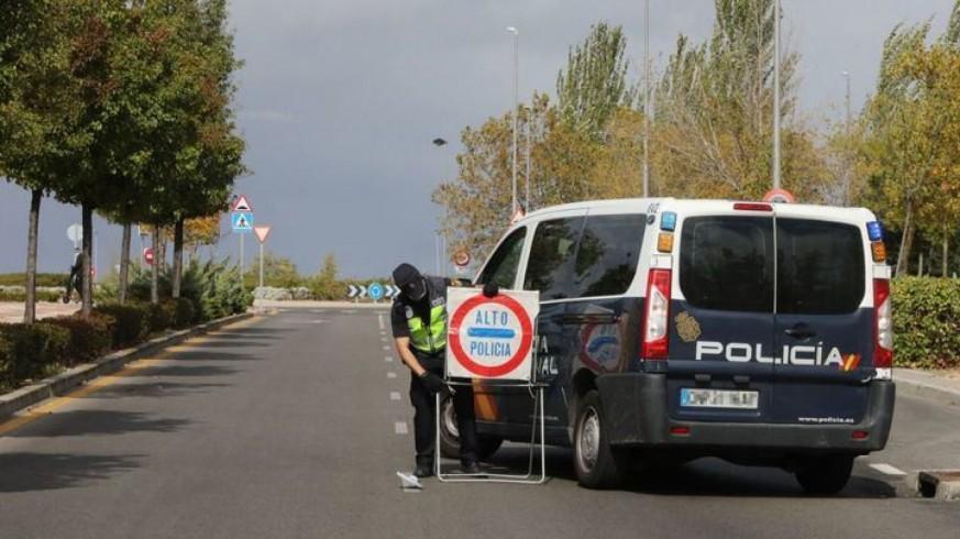 Control policial (archivo). POLICÍA NACIONAL