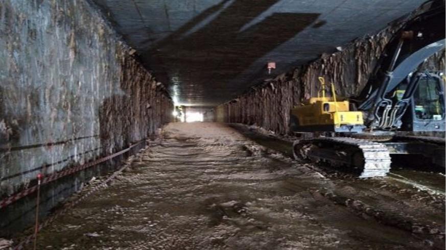 Túnel entre Santiago el Mayor y Senda de Los Garres