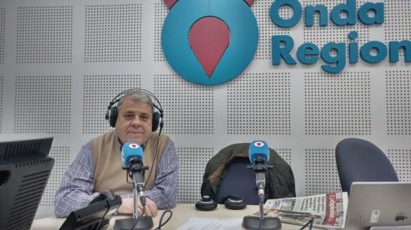Frasquito Fernández en Onda Regional