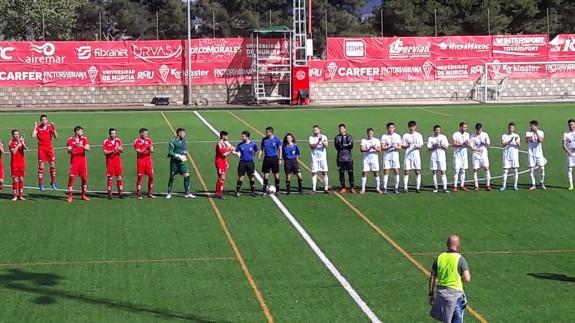 El Lorca B se impone 0-2 al Estudiantes