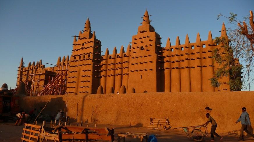 Gran mezquita de Djenné, Mali