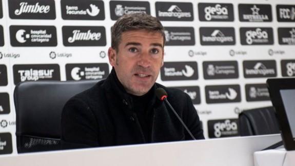 """Luis Carrión: """"Tenemos que dejarnos la vida en el partido de Logroño"""""""