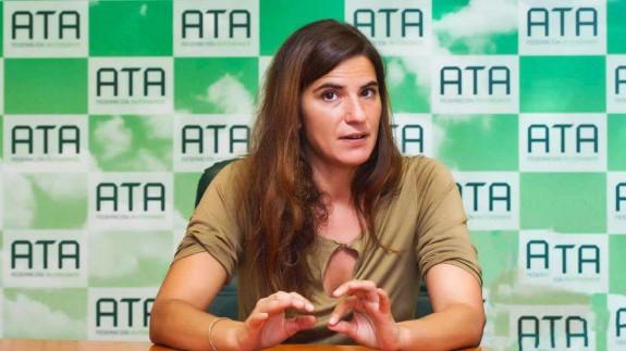 Celia Ferrero, presidenta de ATA Murcia