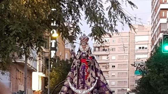 Nuestra Señora de la Fuensanta, patrona de Murcia