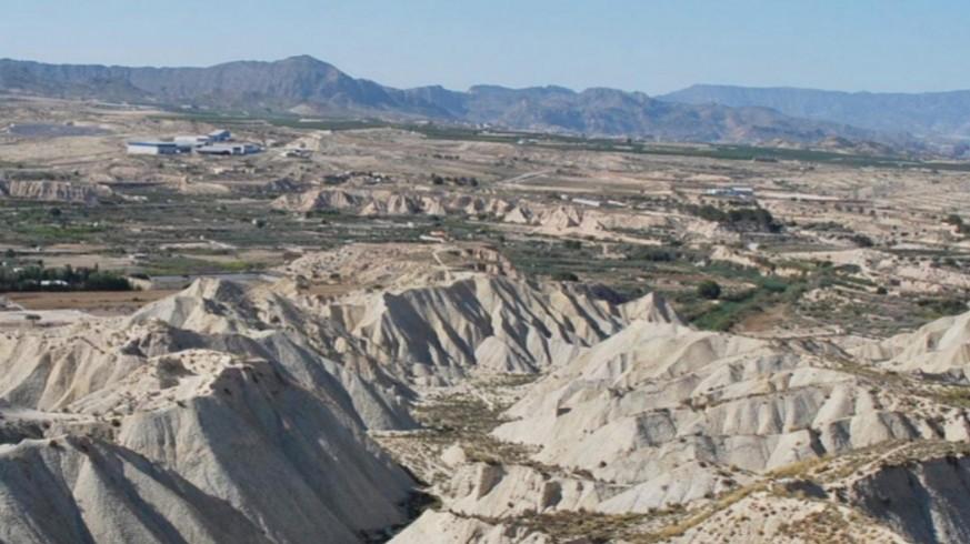 Imagen de una zona de la comarca del río Mula