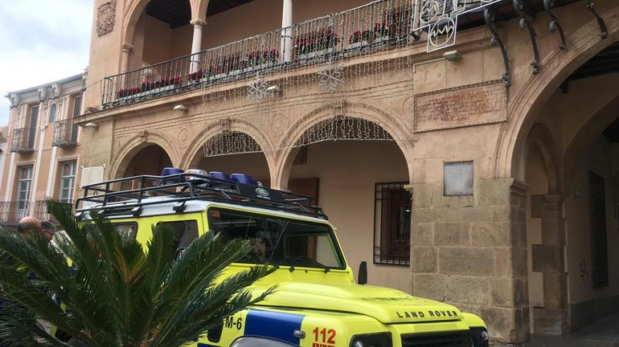 Ayuntamiento de Lorca, esta mañana