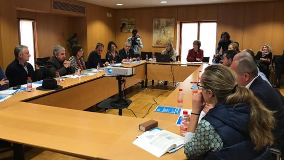 Reunión de Unicef con representantes de los partidos políticos
